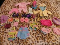 Set of Baby Alive Clothing.