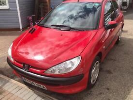 Peugeot 206 2004 54 1.1 petrol