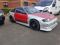 honda crx b16 swapped project.
