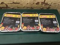 Brand new 3 the original instant charcoal barbecues