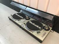 Technics 1200 mk2 pair immaculate