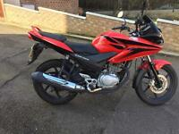 Honda cbf 125 2012 very good condition loads off paper work
