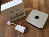 Mac Mini 2.6GHz i5 2014 (Latest Version) 8GB RAM - 250GB SSD - With AppleCare Till 10/2020