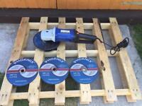 Large 240v metal disc cutter / grinder / barely used - just £48