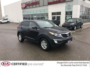 2013 Kia Sportage LX MT - Lease Return, CarProof $0