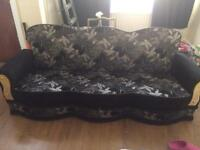 Beautiful 3 + 2 seater fabric sofa bed setee set brand new