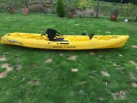 Ocean- going 0ne-man fishing kayak 'Scrambler 11'