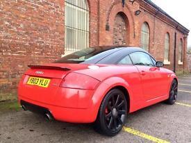 2003 Audi TT 225 1.8T Quattro. Red. Low Miles. Drives Superb.