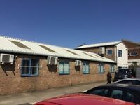 Light Industrial Unit Warehouse OR Office Space & Car Park
