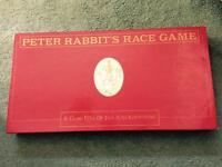 Peter Rabbit's Race Game Beatrix Potter Collectors Item