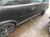 Vauxhall corsa sxi side skirts