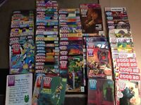 Assorted 2000AD comic collection 1988-2001