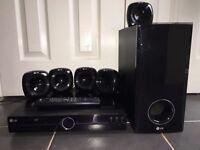 LG 5.1 Surround Sound 600W 5 Speakers (90w) Subwoofer (150w) Home Cinema