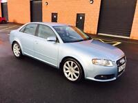 2006 AUDI A4 SLINE 2.0 DIESEL 6 SPEED MANUEL ONLY 80,000 MILES FULL SERVICE HISTORY