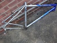 FRAMES TO CLEAR CHEAP, ALL TYPES HY BRID, BMX, ALLOY.