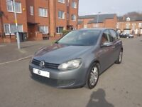 2010 10 REG NEW SHAPE VOLKSWAGEN GOLF 1.6 TDI SE MOT TILL SEPTEMBER 2018 HPI CLEAR £30 TAX FULL YEAR