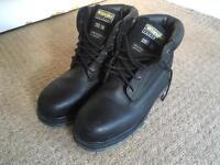 *WORN ONCE* Wrangler Steel Toe Cap Boots Size 10