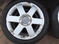 Audi tt alloys with dunlop sport maxx 225 45 17