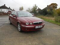 ***IMMACULATE JAGUAR X TYPE V6 AUTOMATIC 4 DOOR SALOON JUST 50K MILES***