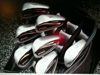 PING G25 IRONS 5-9,PW & SW. Red Dot.