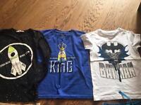 Boys tshirt bundle age 6