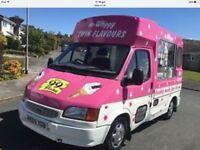 Ice cream van for whitby morrinson £13000