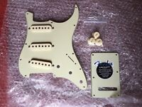 Fender American Deluxe Stratocaster loaded scratchplate