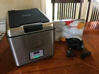 Sous Vide Supreme water oven. Was £379, used twice.