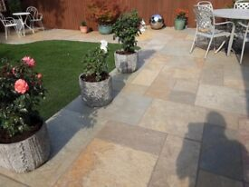 Indian natural Limestone. Approx. 10 sqm availability due to over ordered