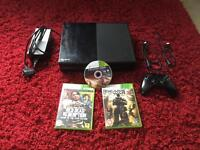Xbox one day one edition 500gb for sale or swap with PS4