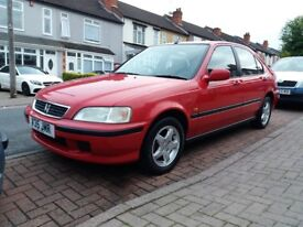 Honda civic 1.4 petrol manual hatchback