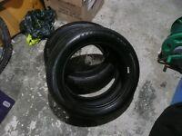 2x Goodyear efficient grip 205/55/R16 tyres