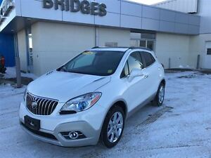 2016 Buick Encore Leather**Leather/Backup Camera/Sunroof and muc