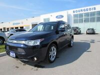 2014 Mitsubishi Outlander GT LEATHER MOONROOF KEYLESS ENTRY