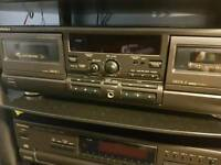 Technics tr s 474 mk2 double tape deck in great condition