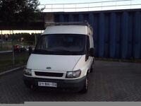 CLEAN LEFT HAND DRIVE FORD TRANSIT, DRIVES EXCELLENTLY, LARGE LOAD CAPACITY, PAPERS SORTED..CALL ME