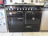 Rangemaster Elan 110 Dual Fuel Cooker Black