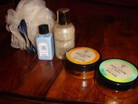 Body Lotion/Shower gel /Bath Soak and Scrunchie---New!