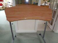 Over Chair Table - **As New Height & Tilt Adustable**
