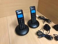 BT Digital Cordless Twin Home Phones Excellent Condition