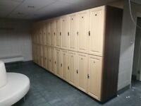 200 x Wooden Gym Lockers for Sale in Acton, London W3