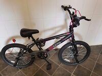 Zinc Girls 20 Inch BMX Bike Great condition