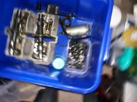 Susuki 1981 250 gsx e engine parts etc and springs