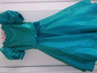 Girls Emerald Green Party Dress