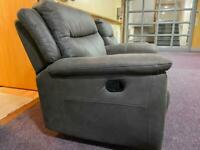 Furniture Village Leather Recliner Armchairs - RRP: £1000 each!