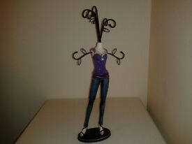 Mannequin Jewellery Display Stand Necklace Holder Lady Figure
