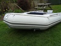 INFLATABLE BOAT DINGY