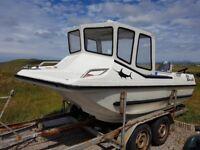 14' catamaran boat (aqua jeep 430)