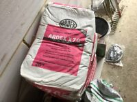 8 x 20kg Bags Of Tile Adhesive by Ardex