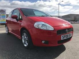 Fiat Grande Punto excellent condition service history only 45000 miles